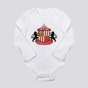 Vintage Sunderland AFC Long Sleeve Infant Bodysuit