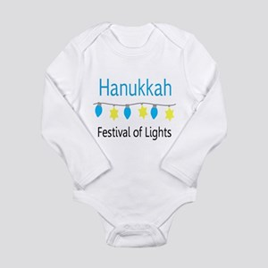 Hanukkah Festival of Lights Body Suit