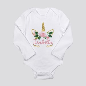 sleeping unicorn personalize Body Suit