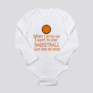 Basketball...just like MOM Body Suit