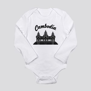 Cambodia Long Sleeve Infant Bodysuit