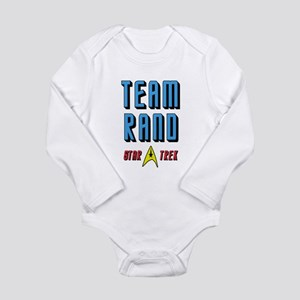 Team Rand Star Trek Long Sleeve Infant Bodysuit