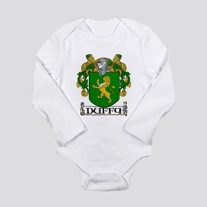 Duffy Coat of Arms Long Sleeve Infant Bodysuit