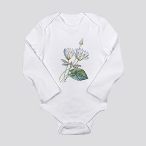 Lotus and dragonfly Body Suit