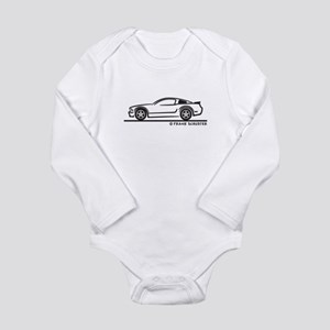Ford Mustang GT Fastback Long Sleeve Infant Bodysu