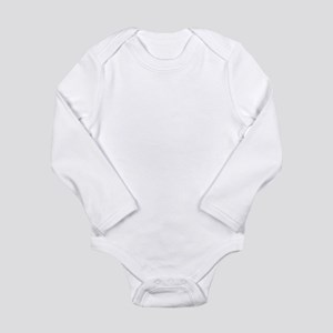 Narwhal Whale Long Sleeve Infant Bodysuit