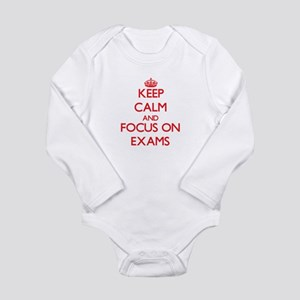 Keep Calm and focus on EXAMS Body Suit