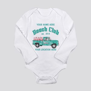 Flamingo Beach Club Body Suit