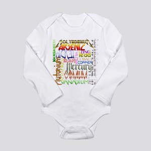 HEAVY METALS Long Sleeve Infant Bodysuit