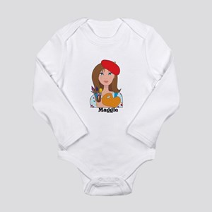 Lady Artist Long Sleeve Infant Bodysuit