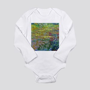 Water lilies by Claude Monet Body Suit