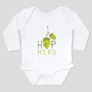 Hop Head Long Sleeve Infant Bodysuit