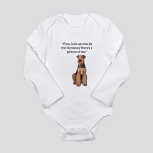 Stoic Airedales Epitome of the Term Body Suit