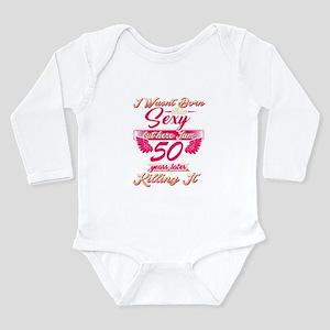 Cute 50th year birthday party gift tshir Body Suit
