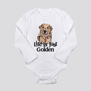 Life is Just Golden Long Sleeve Infant Bodysuit