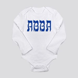 Abba - Long Sleeve Infant Bodysuit