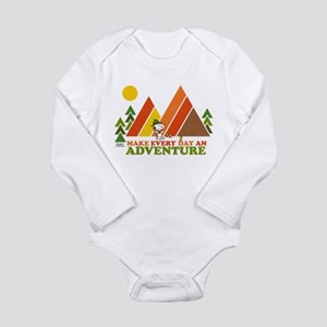 Snoopy-Make Every Day Long Sleeve Infant Bodysuit