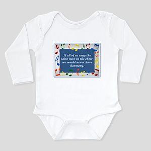 Harmony Long Sleeve Infant Bodysuit