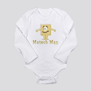 Matzoh Man Passover Body Suit