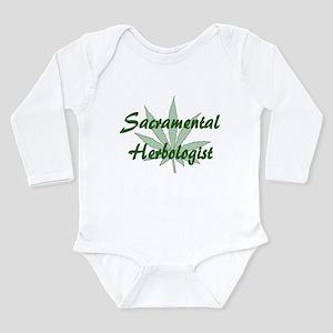 Sacramental Herbologist Long Sleeve Infant Bodysui