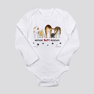 Dog Breed Rescues Infant Creeper Body Suit