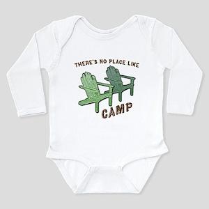 No Place Like Camp - Long Sleeve Infant Bodysuit