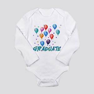 Graduation Balloons Long Sleeve Infant Bodysuit