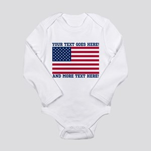 Personalized Patriotic American Flag Classic Body