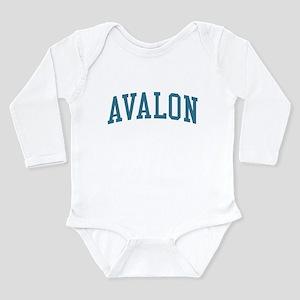 Avalon New Jersey NJ Blue Body Suit