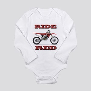 RideRed 08 Long Sleeve Infant Bodysuit