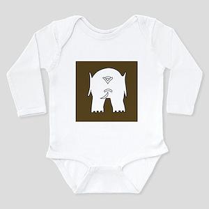 253 L. of C.Sub-Area.1 Long Sleeve Infant Bodysuit