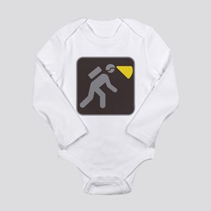 Caving Spelunking Potholing Long Sleeve Infant Bod