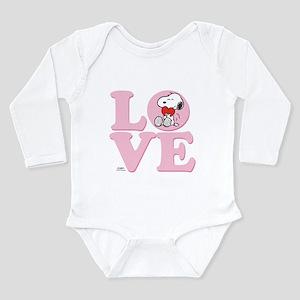 LOVE - Snoopy Body Suit