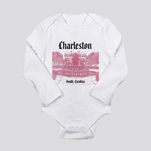 Charleston Long Sleeve Infant Bodysuit