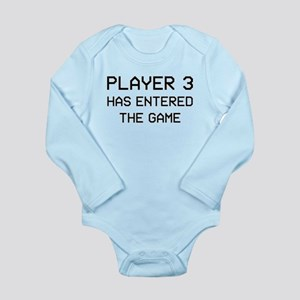 Player 3 Long Sleeve Infant Body Suit