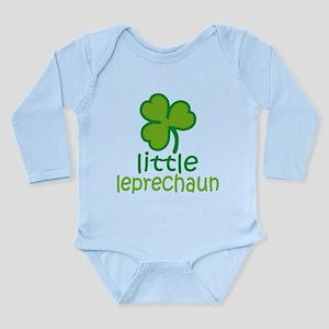 Little Leprechaun Long Sleeve Infant Bodysuit
