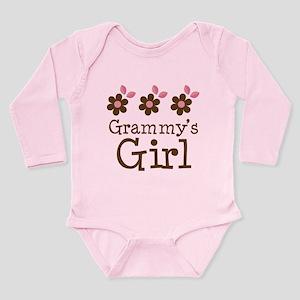 7ad8f695955 Grammy's Girl Daisies Long Sleeve Infant Bodysuit
