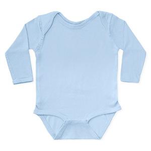 CafePress Run Marathon Just Like Daddy Body Suit Cute Long Sleeve Infant Bodysuit Baby Romper Cloud White