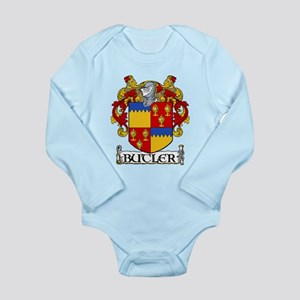 Butler Coat of Arms Long Sleeve Infant Bodysuit