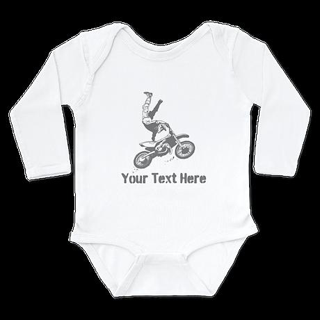 Freestyle Motocross Long Sleeve Infant Bodysuit