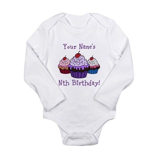 CUSTOM Your Names Nth Birthday! Cupcakes