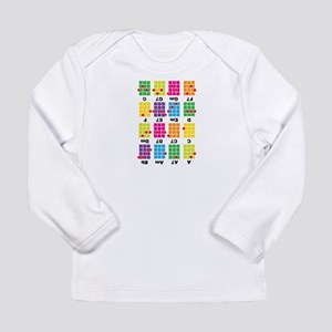 Chord Cheat Tee White Long Sleeve Infant T-Shirt