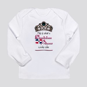 Dominican Princess - Long Sleeve Infant T-Shirt