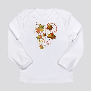 Racing The Autumn Wind Long Sleeve Infant T-Shirt