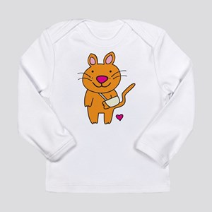 Broken Kitty Long Sleeve T-Shirt