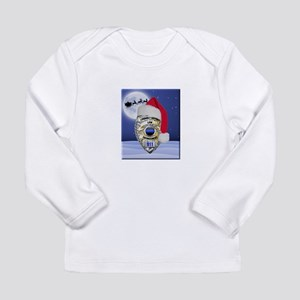 Law Enforcement Support Christmas Long Sleeve T-Sh