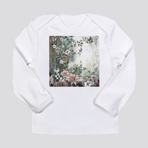 Flowers Painting Long Sleeve T-Shirt