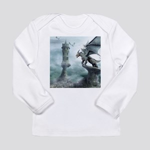 Tower Dragons Long Sleeve Infant T-Shirt