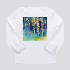 Floral Painting Long Sleeve Infant T-Shirt
