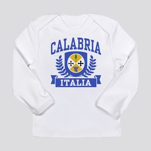 Calabria Italia Coat of Arms Long Sleeve T-Shirt